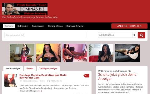 Dominas.biz - Strenge Dominas für devote Sklaven