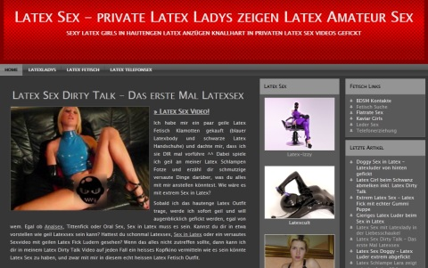 Private Latex Fetisch Sex Videos